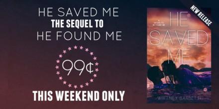 He Saved Me sale graphic