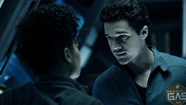 From the Syfy adaptation of THE EXPANSE
