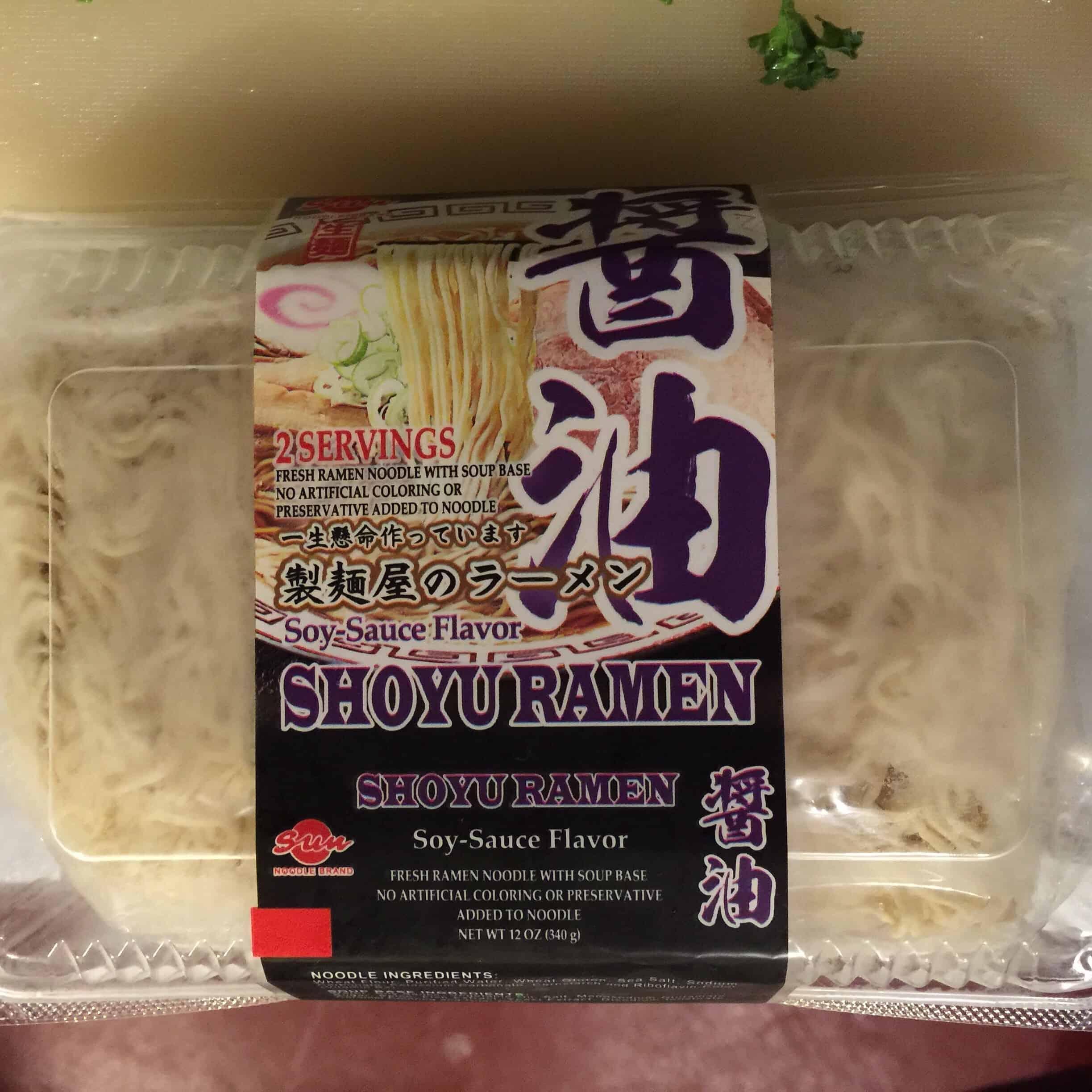 Sun Noodles Shoyu Ramen A Review S J Pajonas