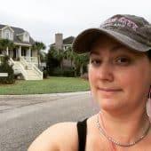 Me, on a walk, no fucks to be found.