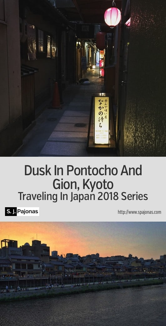 Dusk In Pontocho And Gion, Kyoto - Let's take a stroll through the historic areas of Kyoto's Pontocho and Gion districts. #Japan #Kyoto #Gion